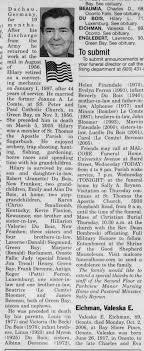 Hilary Leonard DuBois Obituary Part 2 - Newspapers.com