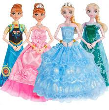 Frozen <b>New Princess Anna Elsa</b> Dolls Snow Queen Children Girls ...