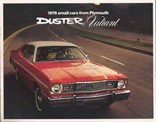 plymouth scamp in collectables 1976 76 plymouth duster valiant scamp brochure