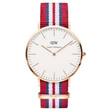 daniel wellington mens exeter 40mm watch 0112dw