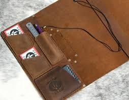 Truck Log Book For Sale Leather Log Book Cover Australian Truck Drivers Diary Handmade By Seller