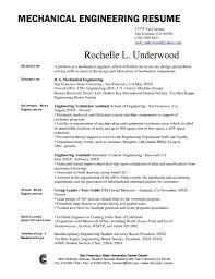 Engineering Resume Objective Sample Infoe Link