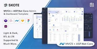 asp net core mvc5 admin dashboard