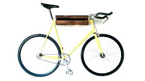 wooden bike rack wall mounted racks australia diy bicycle for truck bed woo