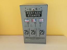 Retro Vending Machine Vol 1 Awesome Vintage ThreeSlot US Post Office Stamp Vending Machine Catawiki