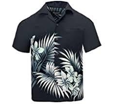 Tropical Luau Beach <b>Floral Print</b> Men's <b>Hawaiian</b> Aloha Shirt (Small ...