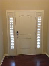 amusing white lowes front doors with blinds wooden side gl also dark laminate flooring