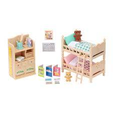 Sylvanian Families Bedroom Furniture Set Sylvanian Families Childrens Bedroom Furniture 4254 From Austins