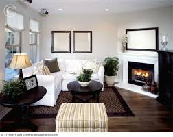 Living Room Corner Decor How To Decorate A Small Living Room With A Fireplace 1000 Ideas