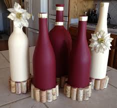 31 Beautiful Wine Bottles Centerpieces Perfect For Any Table (Bottle  Centerpieces)