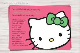 hello kitty baby shower invitations net hello kitty baby shower invitations templates ideas invitations baby shower invitations