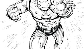 Avengers Infinity War Iron Man Coloring Pages Page Delightful M