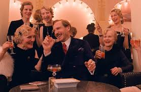 wes anderson s grand budapest hotel is a complex caper the new ralph fiennes center in the grand budapest hotel credit fox searchlight pictures