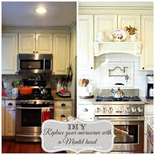 Diy Range Hood Golden Boys And Me Our Latest Kitchen Makeover Reveal