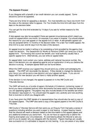 Writing An Appeal Letter Sample Esa Appeal Letter Template Printable Pdf Download