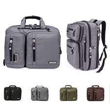 17.3/18.4 Inches Gaming Laptop Briefcase 3 in 1 Multi Purpose Backpack  Business Messenger Shoulder Bag Handbag Laptop Bags & Cases