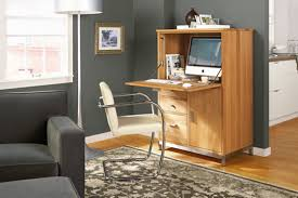 linear armoire with desk armoire office desk