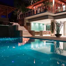fantastic modern house lighting. Pool And Some Spectacular Lighting At This Fantastic Modern Mansion On The Island Of Phuket, House T