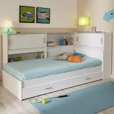 Solid Oak Twin Bed Storage | Wayfair