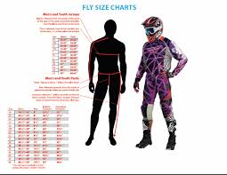Fly Pants Size Chart Details About Fly Racing Patrol Xc Black Off Road Trail Enduro Pants Size 36