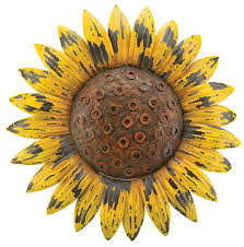 super idea sunflower wall decor home pictures com regal art gift rustic flower kitchen for