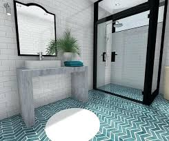 shower in french adorable french door style shower door with big mirror and art style flooring