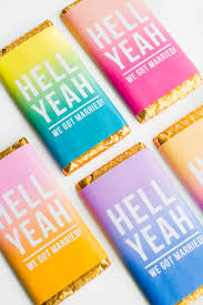 Free Printable Chocolate Bar Wrappers For Your Favours