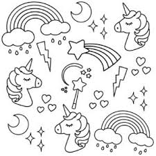 Our selection of three enchanting unicorn pictures to colour in offer intricate detail to help if you found these unicorn pictures to colour in helpful, then we think you'll enjoy these pet colouring sheets too. Free Printable Unicorn Colouring Pages For Kids Buster Children S Books