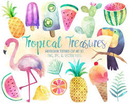 pineapple with sunglasses clipart. tropical watercolor clipart - summer, pineapple, flamingo digital clip art set pineapple with sunglasses
