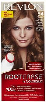 Revlon 54 Light Golden Brown Buy Revlon Root Erase By Colorsilk Ammonia Free Permanent