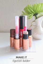 diy modern makeup holder on lovesglam