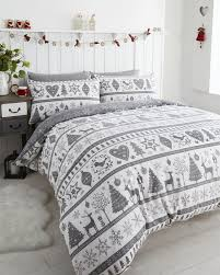 father tree santa reindeer snowman quilt duvet