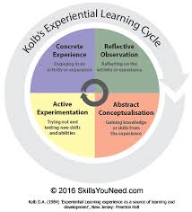 learning approaches   skillsyouneedkolb    s experiential learning cycle