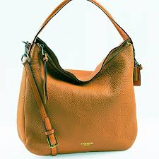 Purchase New COACH 31623 Bleecker Pebbled Leather Sullivan Hobo in Gold  Burnt Camel Brown