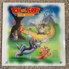 Tom & Jerry The Movie Remastered RARE Laserdisc for sale online