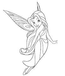 Free Fairy Coloring Pages Kyudojoinfo