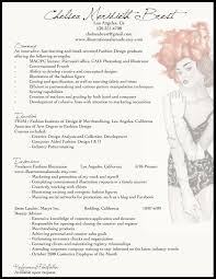 Fashion Industry Resume Templates Fashion Resume Example Pinteres 13