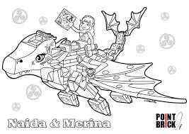 Lego Elves Coloring Pages Printable