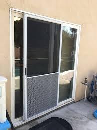 full size of sliding screen door with dog door built in hale pet door for screens