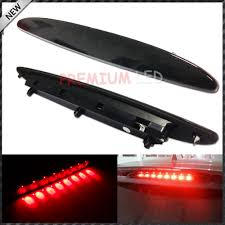2006 Pontiac G6 3rd Brake Light Smoked Lens Brilliant Red 8 Led High Mount Third 3rd Brake