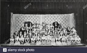 U and I . Parje Thirty-eight. Fourth Roz^1—Janet Bean, Terence Quirk,  Carolyn Clark, Thomas Moore, Joanne Rogers, Richard Foote, John Hairy,  Alary Jackson, Roger Bray, Virginia Neville.Third Row—Miss Baum, Robert  Wingard, Ida