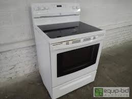 kenmore oven kenmore elite electric glass top five burner range and convection oven dtkc residential appliances