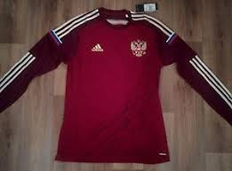 Details About Adidas Russia Adizero Rfu Jersey Training Top Tee Football Size L Red Soccer New
