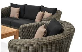 Home Decoration Dark Cushion Sets And St Tropaz Outdoor Wicker