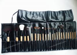 m a c professional makeup brush set 24 pc new 38 95