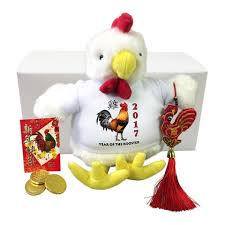 Small Picture Chinese New Year Personalized Stuffed Rooster Gift Set 2017 Year