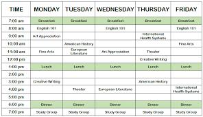 Course Schedule Maker Class Schedule Maker For Students 94xrocks Schedule Maker For
