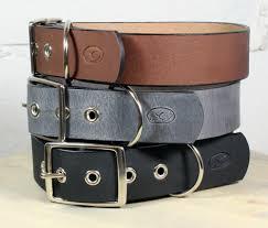 details about big dog 1 5 leather dog collar
