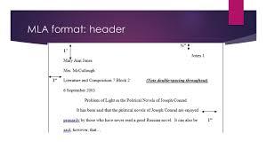 Mla Format In Essay Formatting Details Header Short Example Sl