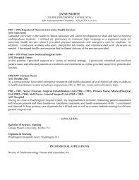 Nurse Resume Entry Level Medical Surgical Job Descri Peppapp